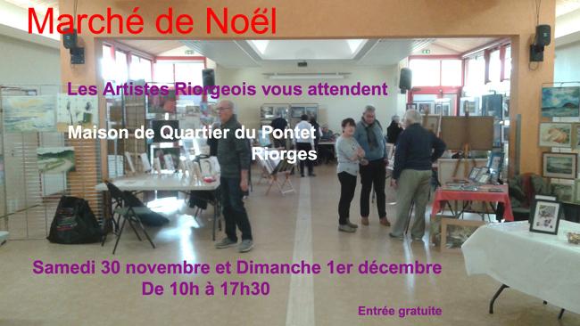 Marché de Noël Riorges